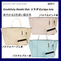 State of Escape Collaboration Bag in Bag A4 Handmade Totes