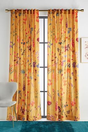 Anthropologie Unisex Collaboration Kitchen Rugs Curtains