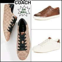 Coach Monogram PVC Clothing Sneakers