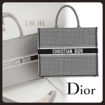 Christian Dior Zigzag Casual Style Canvas A4 2WAY Totes