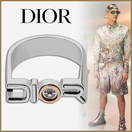 Christian Dior Rings Street Style Collaboration Rings