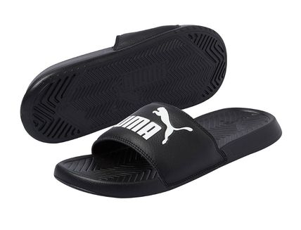 PUMA Street Style Shower Shoes PVC Clothing Logo Sports Sandals