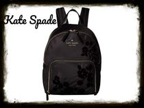 kate spade new york HARTLEY Flower Patterns Nylon Backpacks