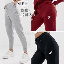 Nike Casual Style Street Style Plain Cotton Skinny Pants