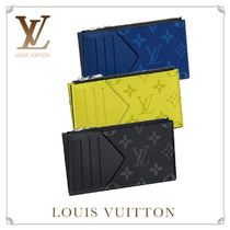 Louis Vuitton Monogram Leather Coin Cases