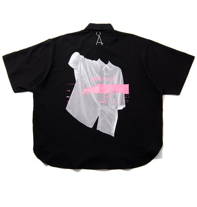 ADD SEOUL Shirts Street Style Short Sleeves Shirts 3
