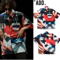 ADD SEOUL Street Style Short Sleeves Shirts