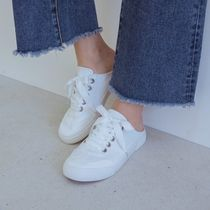 SHOOPEN Casual Style Street Style Low-Top Sneakers