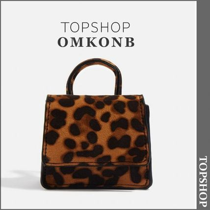 Leopard Patterns Casual Style Totes