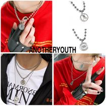 ANOTHERYOUTH Unisex Collaboration Necklaces & Chokers