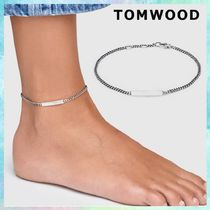 Tom Wood Casual Style Unisex Silver Anklets