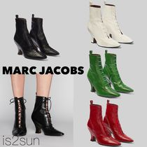 MARC JACOBS Casual Style Street Style Plain Leather Block Heels