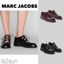 MARC JACOBS Casual Style Street Style Plain Leather