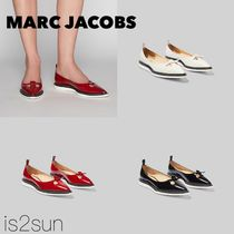 MARC JACOBS Casual Style Street Style Plain Leather Flats