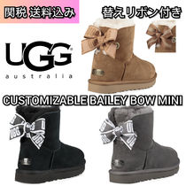 UGG Australia MINI BAILEY BOW Casual Style Sheepskin Boots Boots