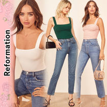 REFORMATION Casual Style Plain Tanks & Camisoles