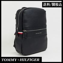 Tommy Hilfiger Unisex Faux Fur Plain Backpacks