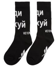 VETEMENTS Street Style Collaboration Socks & Tights