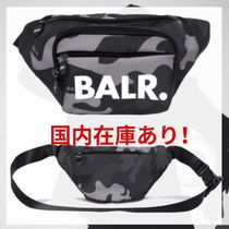 BALR Camouflage Unisex Street Style Bags