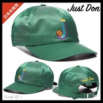 JUST DON Unisex Street Style Collaboration Caps