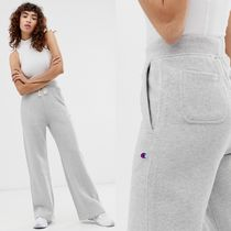 CHAMPION Sweat Street Style Plain Long Sweatpants