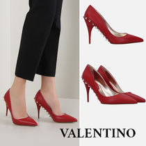 VALENTINO Studded Plain Pin Heels Stiletto Pumps & Mules