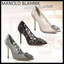 Manolo Blahnik Hangisi High Heel Pumps & Mules