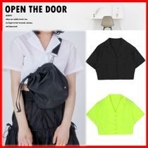 OPEN THE DOOR Casual Style Street Style Shirts & Blouses