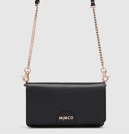 Studded Street Style Chain Plain Other Animal Patterns