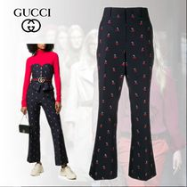 GUCCI Long Wide Leg Pants