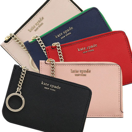 Plain Leather Card Holders