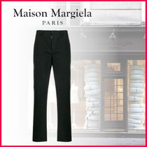 Maison Martin Margiela Tapered Pants Plain Cotton Tapered Pants