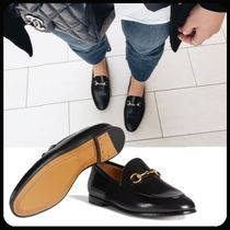 GUCCI Leather Loafer & Moccasin Shoes