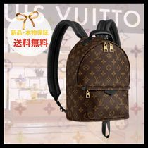 Louis Vuitton MONOGRAM Monogram Casual Style Leather Backpacks