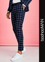 boohoo Printed Pants Other Check Patterns Patterned Pants