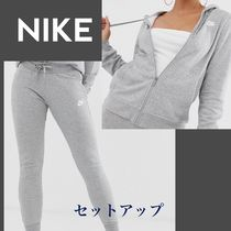 Nike Casual Style Sweat Street Style Long Sleeves Dresses