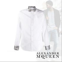 alexander mcqueen Camouflage Long Sleeves Cotton Shirts