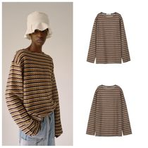 ANDERSSON BELL Stripes Street Style Long Sleeves Oversized