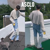 ASCLO Unisex Street Style Jeans