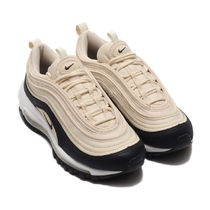 Nike AIR MAX 97 Rubber Sole Lace-up Casual Style Unisex Street Style Plain