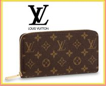 Louis Vuitton Monogram Street Style Leather Home Party Ideas Long Wallets