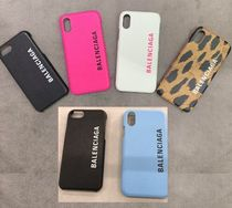 BALENCIAGA Leather Smart Phone Cases