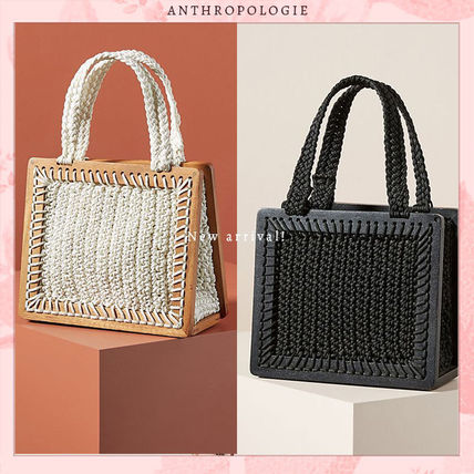 Street Style Collaboration Straw Bags
