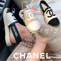 CHANEL Casual Style Unisex Shoes