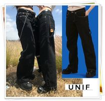 UNIF Clothing Denim Plain Long Jeans