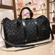 Louis Vuitton MONOGRAM Monogram Unisex Blended Fabrics Street Style A4 2WAY