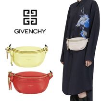 GIVENCHY Casual Style Calfskin 2WAY Plain Bags