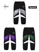 Supreme Unisex Street Style Collaboration Pants