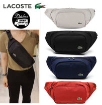 LACOSTE Casual Style Unisex Street Style Plain Hip Packs