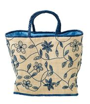 rice Flower Patterns Totes